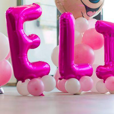 Buchstabenballons