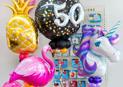 Ballons und Dekoelemente für alle Anlässe
